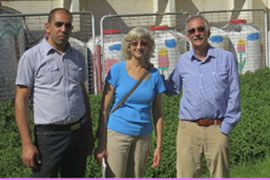 Osama Habib, Leora and Malcolm Siegel